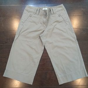 Ann Taylor Loft | Bermuda Khaki Shorts